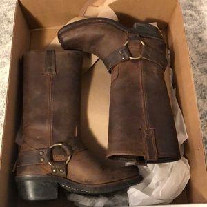 Frye Boots - Harness 12R in Tan